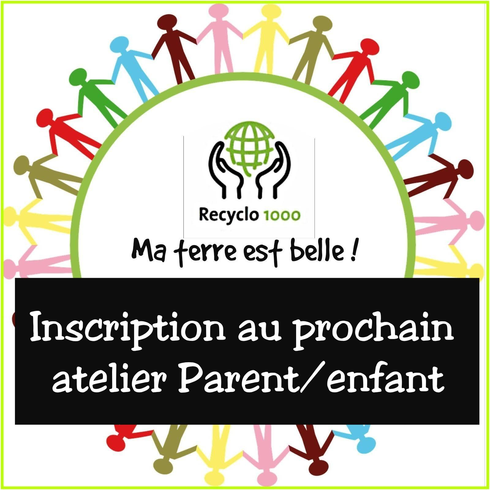 Inscription au prochain atelier parents/enfants